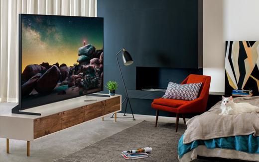 Nagyfelbontású Samsung TV